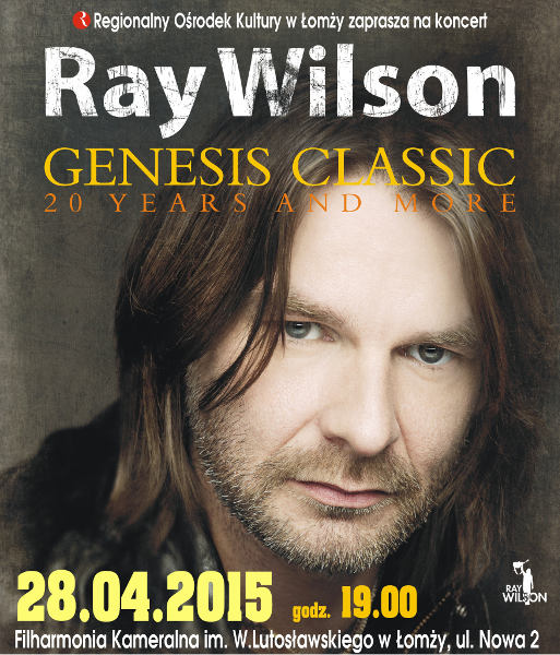 Ray Wilson ,,Genesis classic – 20 years and more''